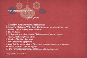 """Boas Festas"" Holiday CD - by The Portuguese Kids"