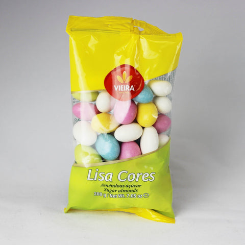Jordan Almonds, Candy Coated, Assorted Colors