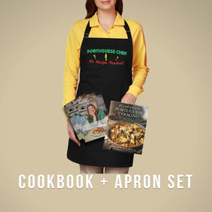 Cookbook & Chef's Apron Set