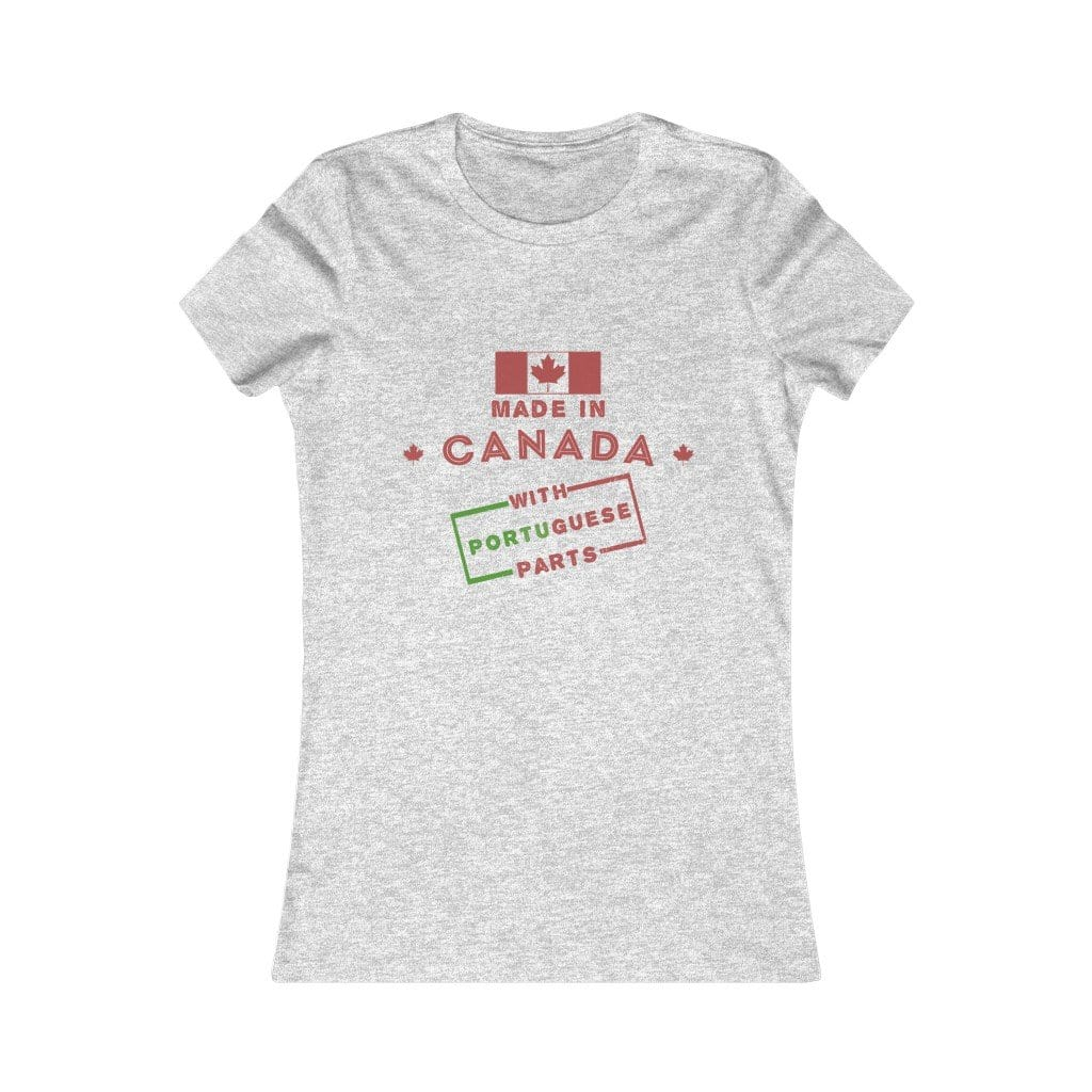 Made in Canada with Portuguese Parts Women's T-Shirt