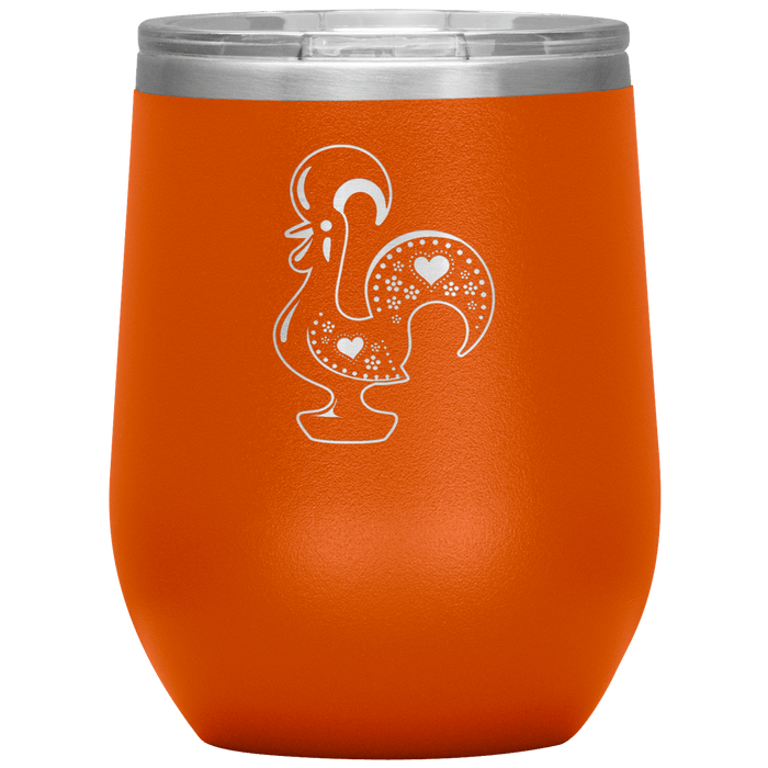 Barcelos Rooster Wine Tumbler