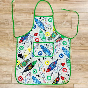 Portuguese Decorated Sardine Apron