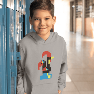 Youth Size Minecraft Barcelos Rooster Hoodie