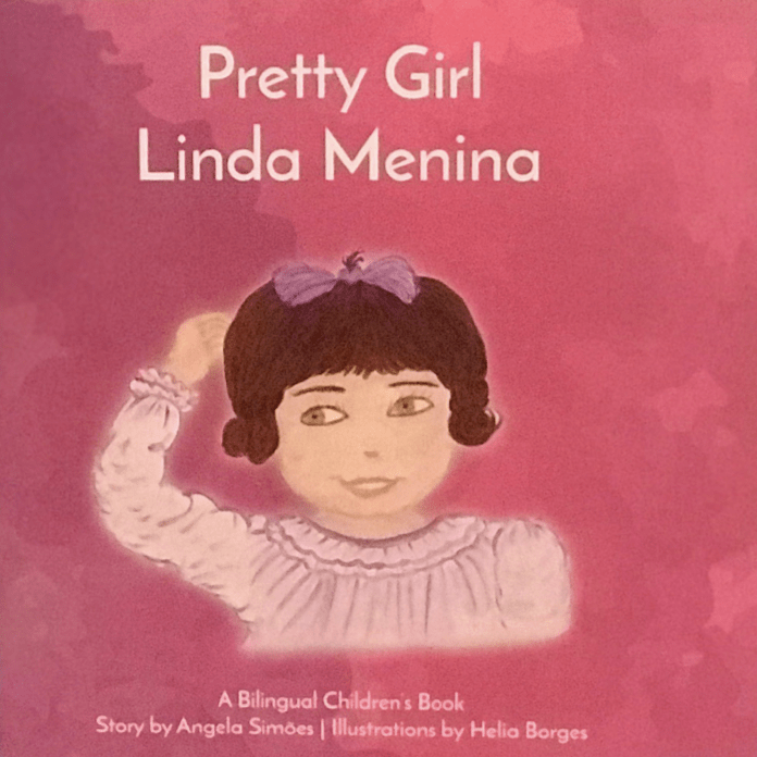 """Pretty Girl Linda Menina"" Children's Book by Angela Simoes"