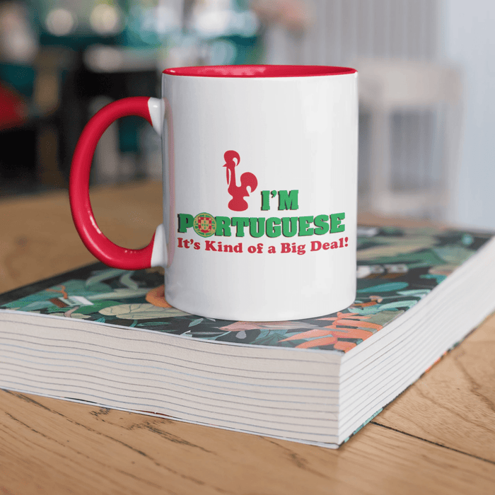I'm Portuguese It's Kind of a Big Deal! Mug