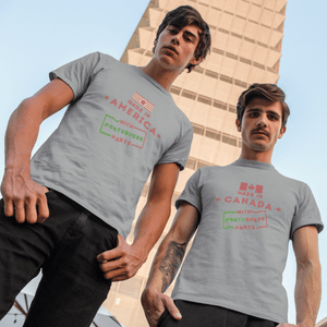 Made in America with Portuguese Parts T-Shirt (PRINTIFY)