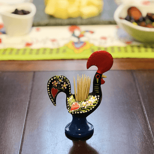 Barcelos Rooster Toothpick Holder