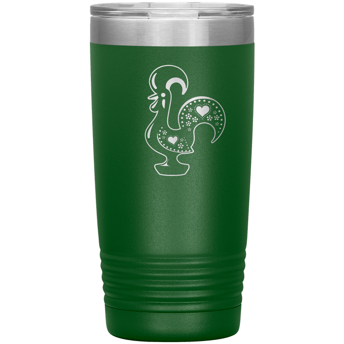 Barcelos Rooster Travel Tumbler
