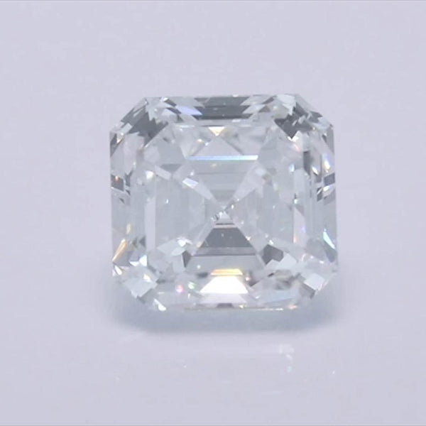 Asscher Diamond - Carat Weight: 0.53