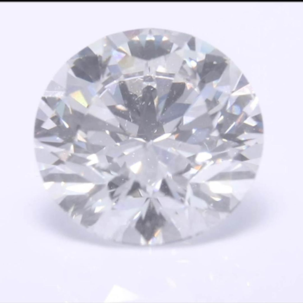 Round Diamond - Carat Weight: 2.06