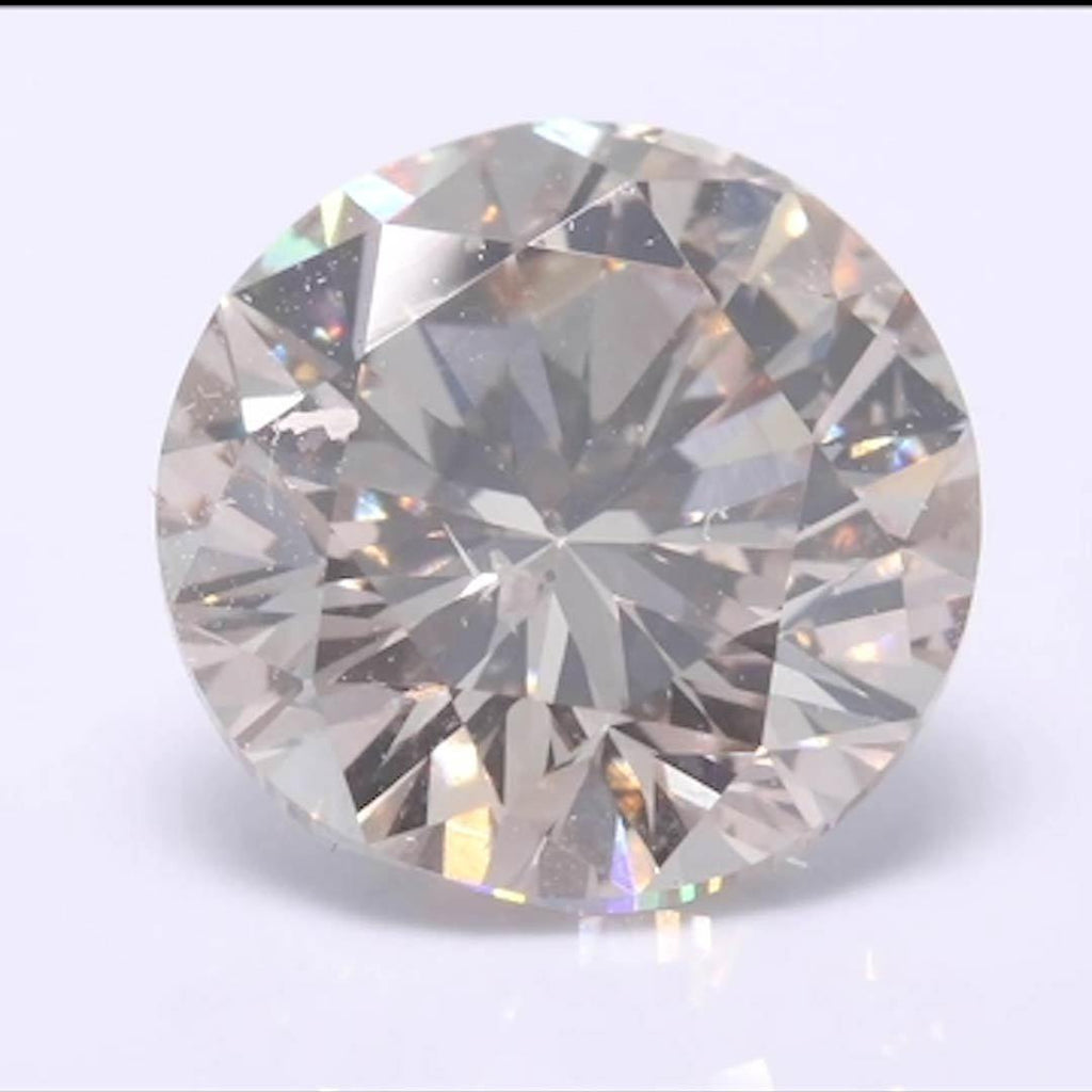 Round Diamond - Carat Weight: 2.43