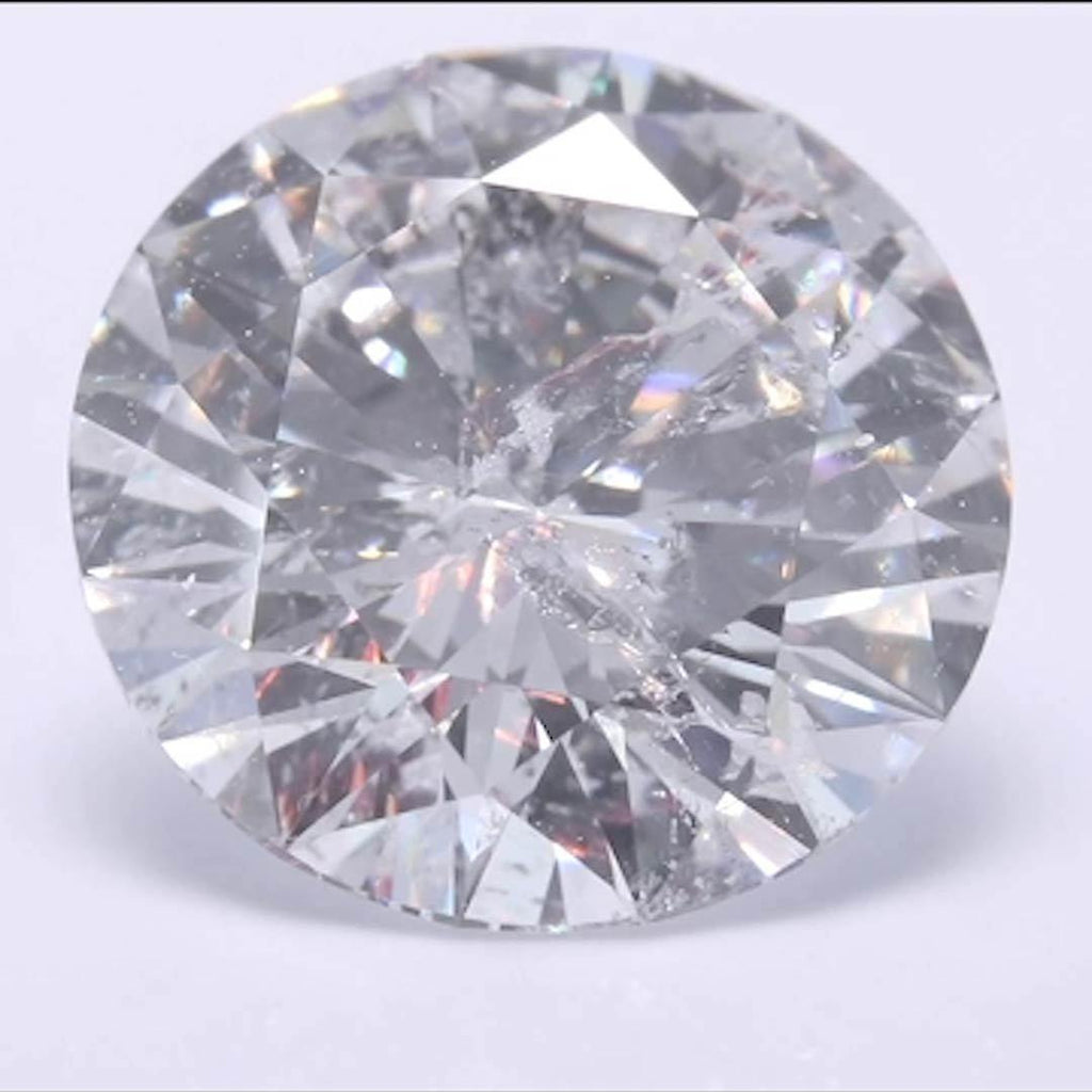 Round Diamond - Carat Weight: 2.05