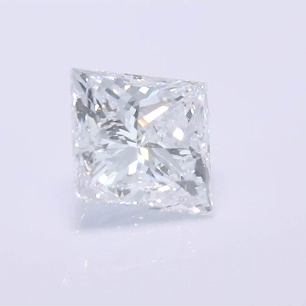 Princess Diamond - Carat Weight: 1