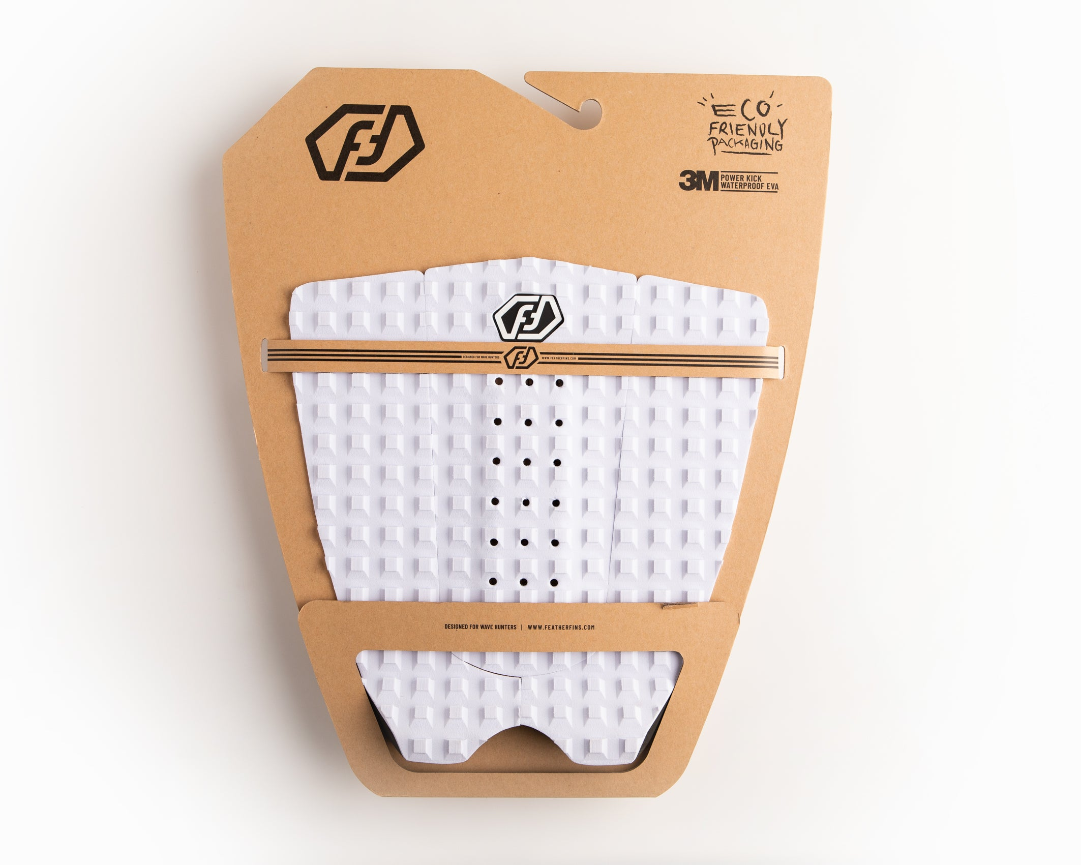 FF TRACTION PAD 3 PIECES WHITE