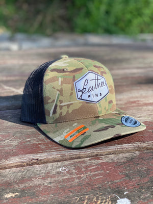 SNAP BACK CAMO HAT