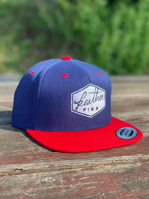 SNAP BACK BLUE / RED HAT