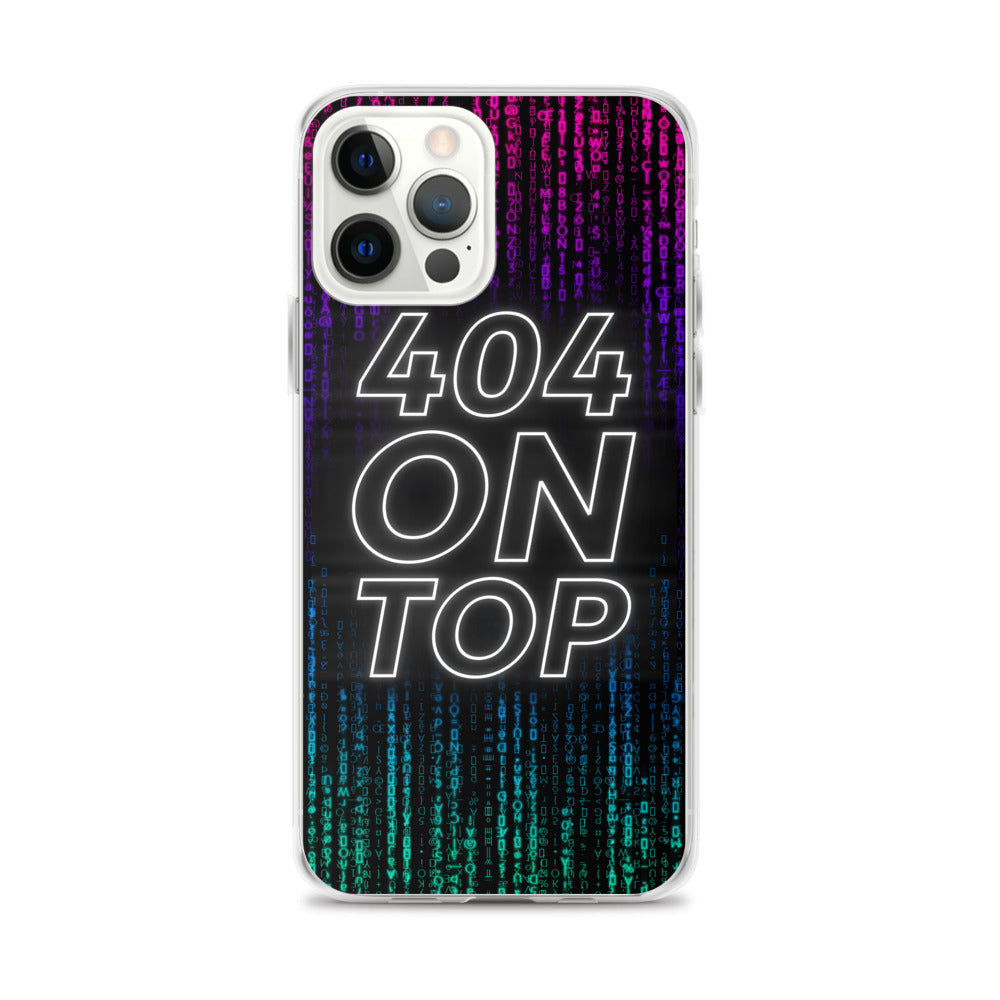 404 On Top iPhone Case