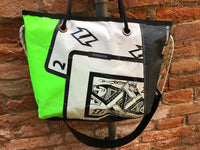 Borsa San Marco Woman Green Poker