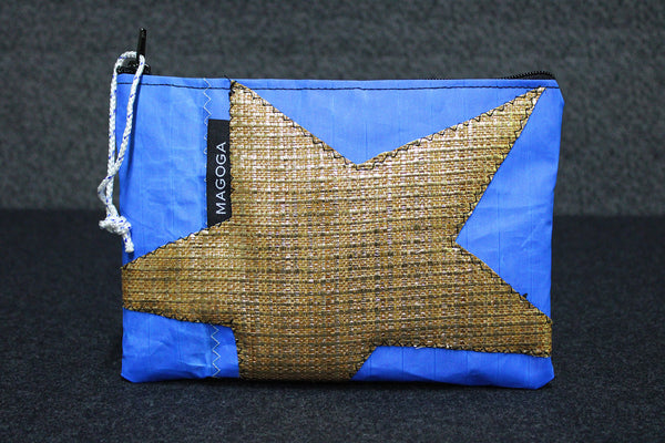 Pochette Gold Star Blue