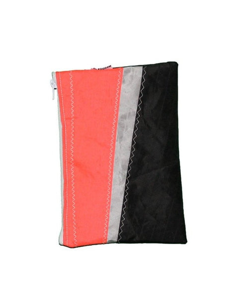 Pochette Red Black Stripes