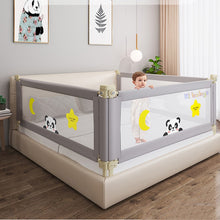 Load image into Gallery viewer, Adjustable Baby Bed Fence Safety Playpen Kids Vertical Lift Crib Rails Infants Safety Gate Crib Barrier Children Guardrail
