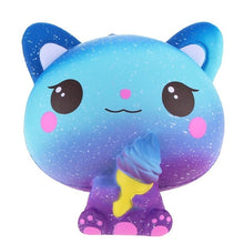 Load image into Gallery viewer, squishy cat unicorn squishies slow rising jumbo mini big panda food animals donut milk squishy  kids toys for children