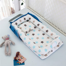 Load image into Gallery viewer, Portable Baby Nest Bed for Boys Girls Travel Bed Infant Cotton Cradle Crib Baby Bassinet Newborn Bed
