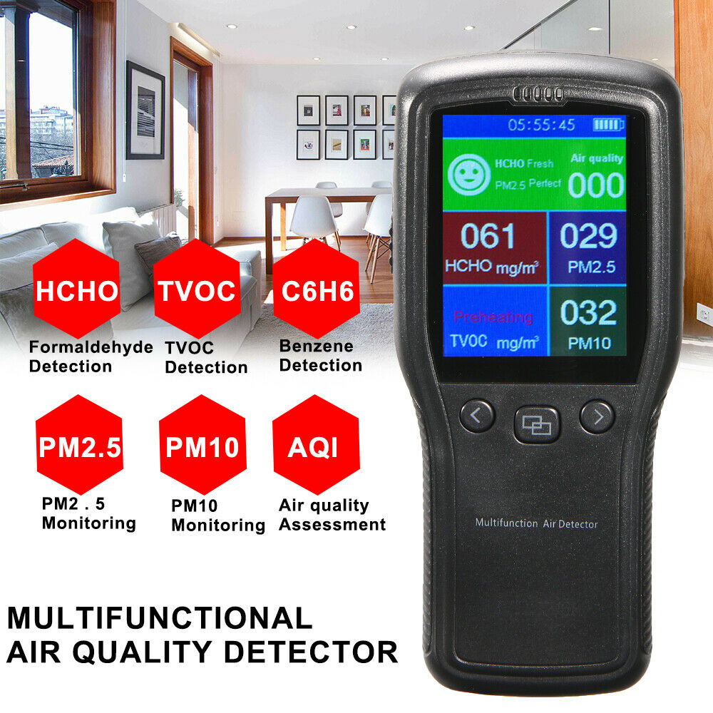 Air Quality Tester Multi-Functional Air Monitoring Sensor Detector - Air Capital eCom