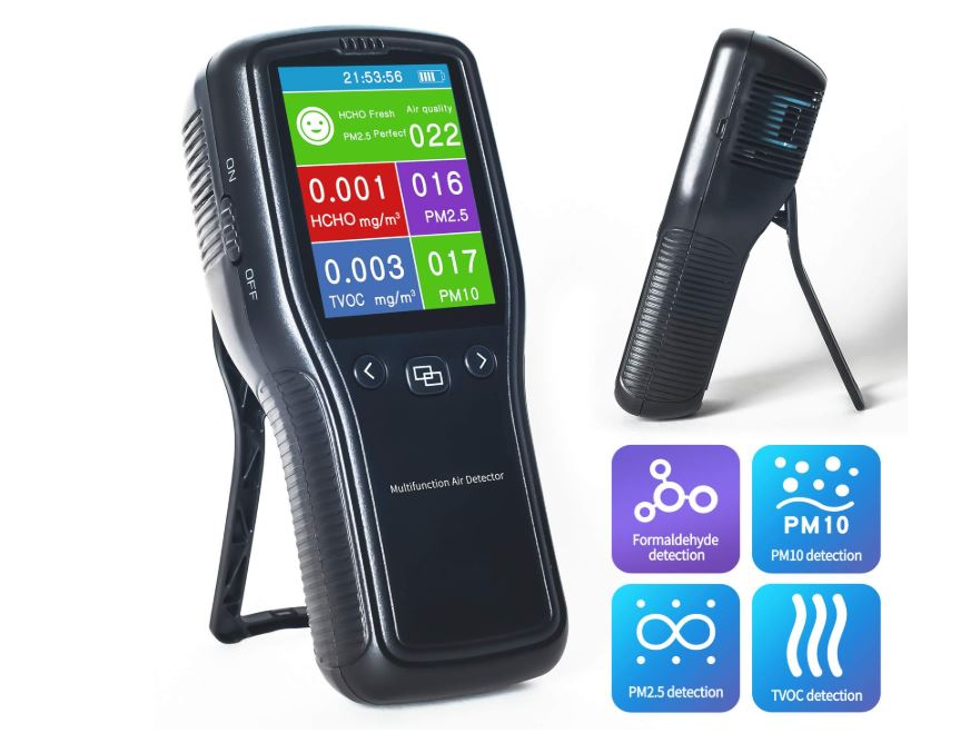 Air Quality Tester Multi-Functional Air Monitoring Sensor Detector