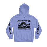 ACID CTRL DEATH'S HEAD HOODIE - ACID CTRL