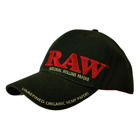 RAW AUTHENTIC BLACK HAT