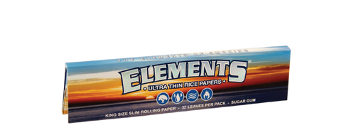 Element Rolling Paper King Size Slim (x 10 Booklets)