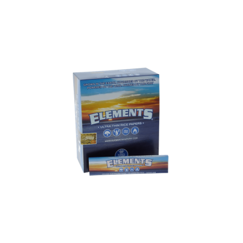 Elements Ultra Thin Rice Paper (1 Box)