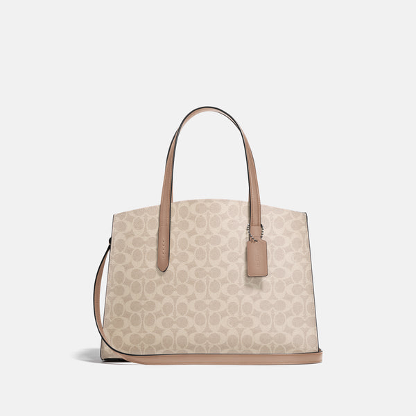 Coated Canvas Signature Charlie Carryall