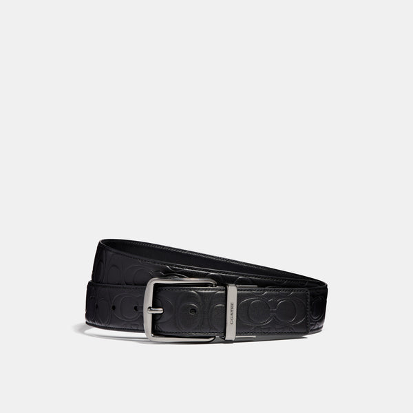 38mm Cts Harness Belt In Signature Leather