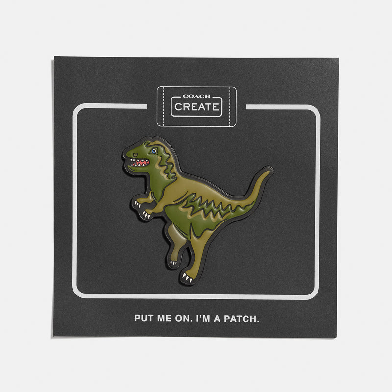 Rexy Embossed Shoe Patch Leather