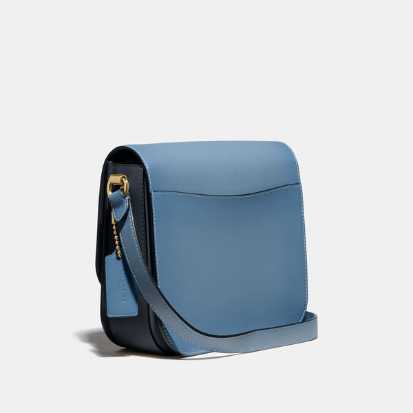 Colorblock Gussets Hutton Saddle Bag