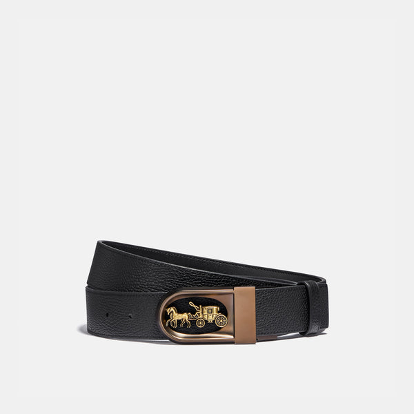 Coach Hc Pbld Lth Belt