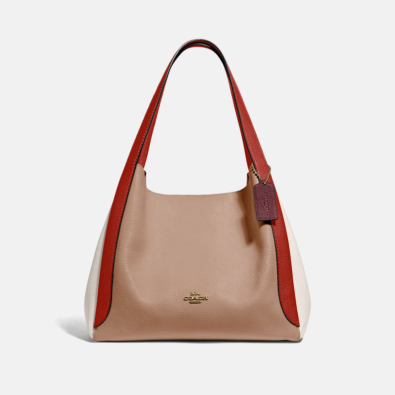 Coach Hadley hobo in colorblock