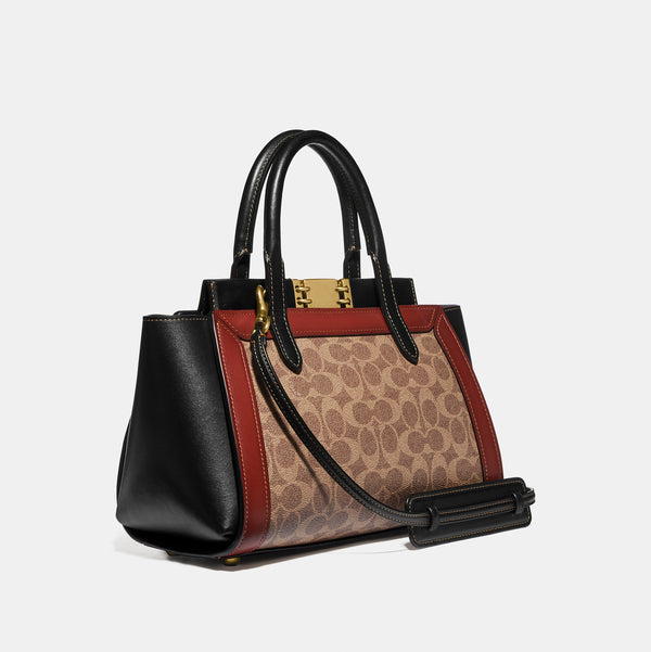 Coach Troupe Carryall In Signature Canvas