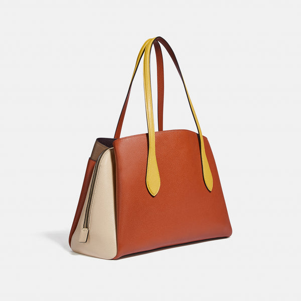Coach Colorblock Lora Carryall
