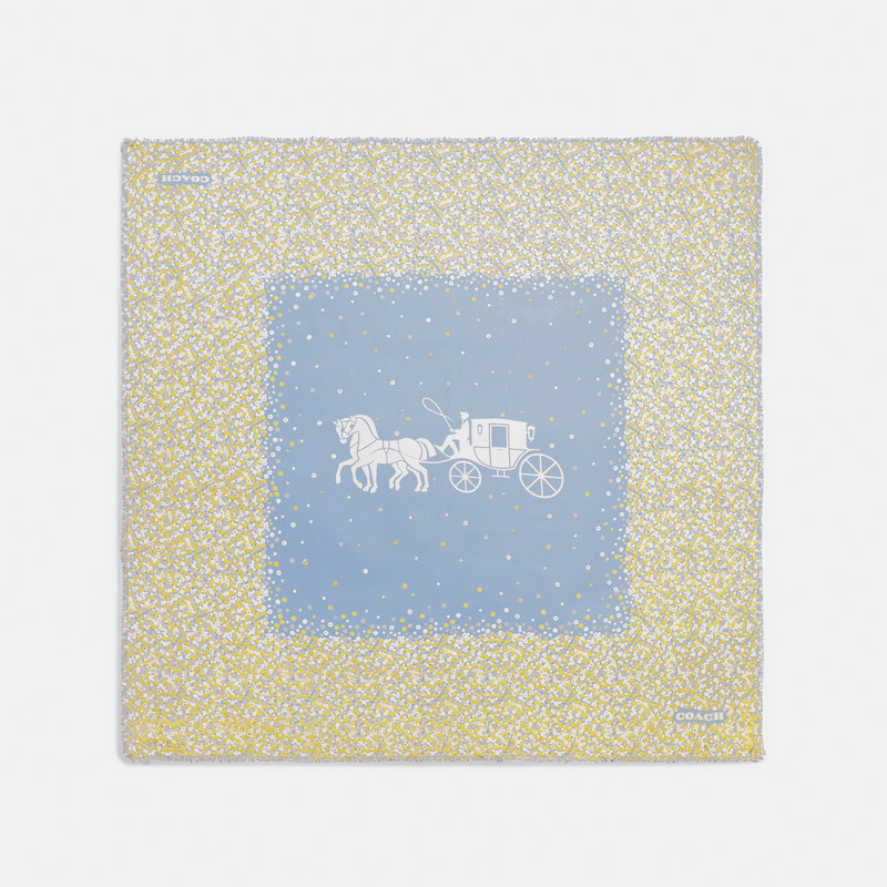 Horse and Carriage Ditsy Tea Rose Oversize