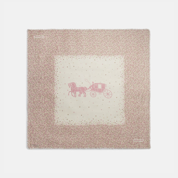 Horse and Carriage Ditsy Tea Rose Oversi