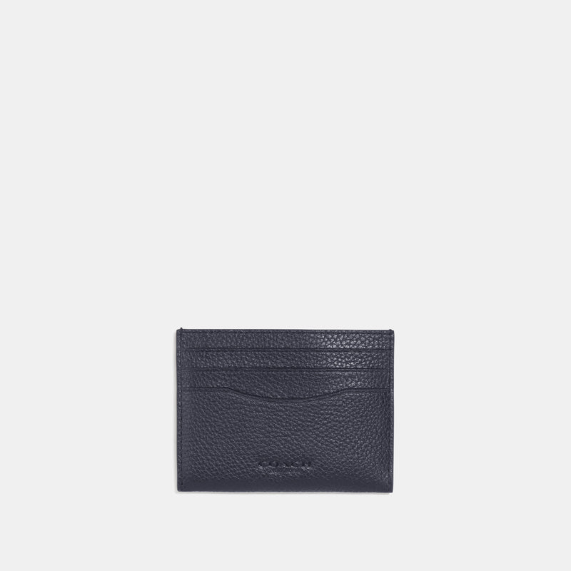 Coach Card case with signature canvas interior