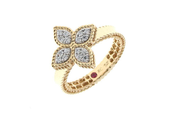 Roberto Coin Princess Flower  Ring