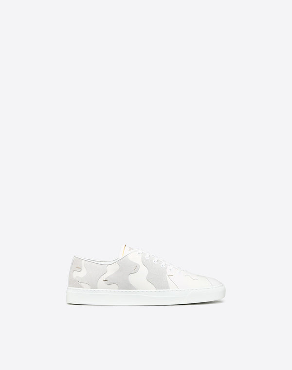 VALENTINO LOW-TOP CAMOUFLAGE SNEAKER