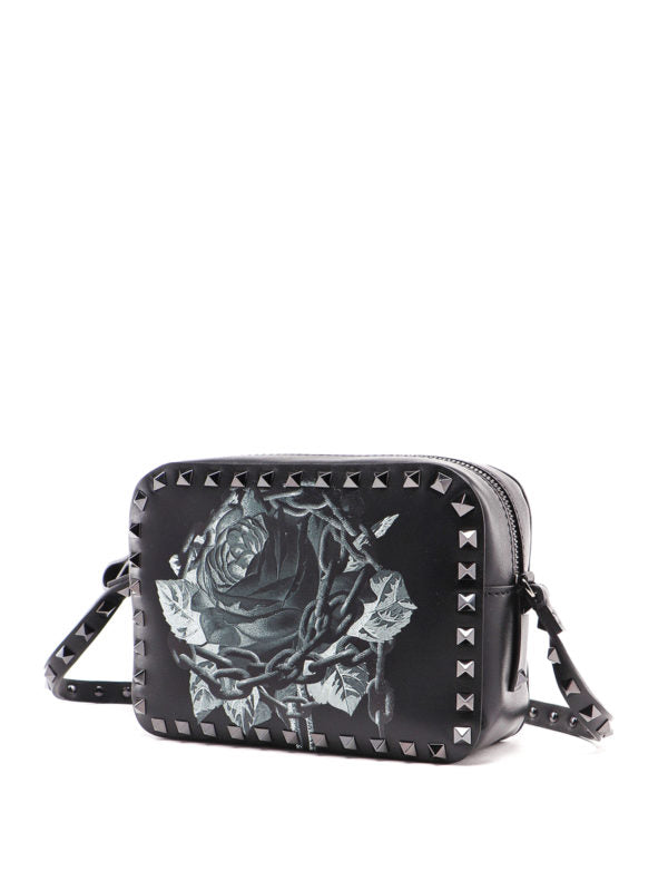 VALENTINO ROCKSTUD SMALL VALENTINO GARAVANI  CROSS BODY BAG