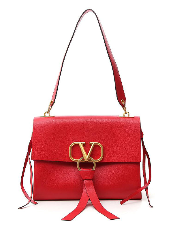 VALENTINO V RING MEDIUM SHOULDER BAG