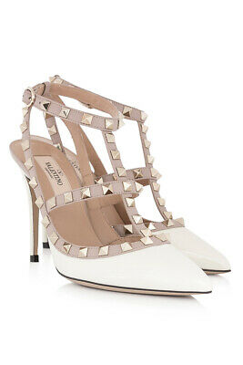 VALENTINO ROCKSTUD ANKLE STRAP 100 MM