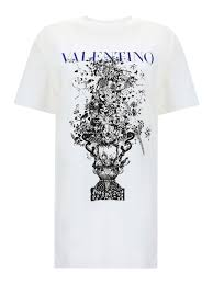 VALENTINO  T-SHIRT WITH PRINT